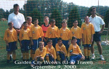 Garden City Wolves U-10 Boys Travel Soccer Team